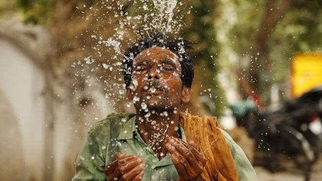 For India, high temperatures have had a devastating impact on communities, the economy, and biodiversity(AP)