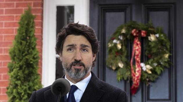Canadian Prime Minister Justin Trudeau.(File photo)