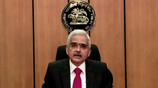Reserve Bank of India (RBI) governor Shaktikanta Das is seen in this file photo.(ANI Photo)