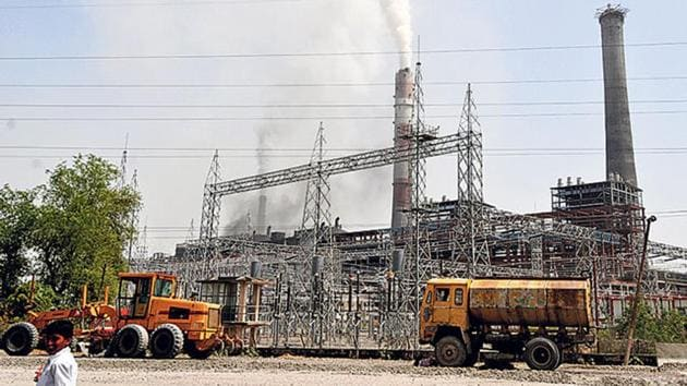 Energy ministries highlighted why coal-based thermal power plants are necessary for India to continue growing. (HT File Photo)