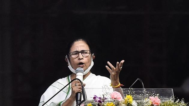 File photo: West Bengal chief minister Mamata Banerjee.(PTI)