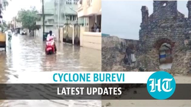 Cyclone Burevi remained practically stationary for 30 hrs over Tamil Nadu's Rameswaram. Severe waterlogging was witnessed in Rameswaram & Puducherry following heavy rainfall. Residents of Rameswaram also suffered power outages due to the cyclone. IMD informed that the depression weakened into a well marked low pressure area. Fishermen have been advised not to venture along Kerala coast on December 5 and 6. Orange alert has been issued for four districts in Kerala for December 6. Teams of NDRF are carrying out rescue operations in Tamil Nadu and Kerala. Watch the full video for more details.