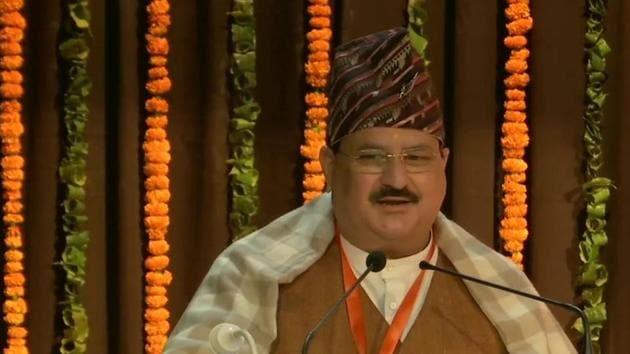 Bharatiya Janata Party (BJP) president JP Nadda(ANI)