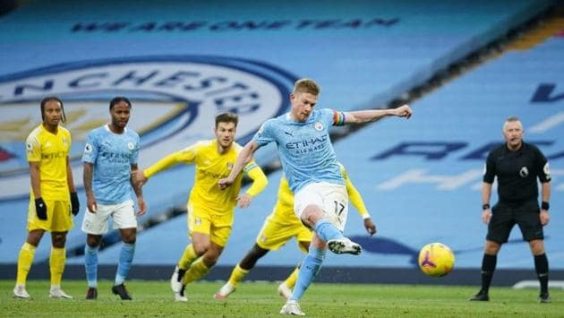 Manchester City beat Fulham 2-0(Twitter)