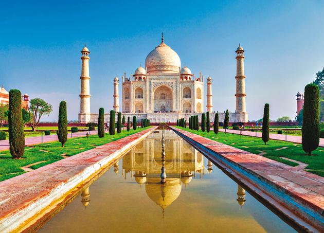 The more you stare at the Taj, the more it reveals its beauty