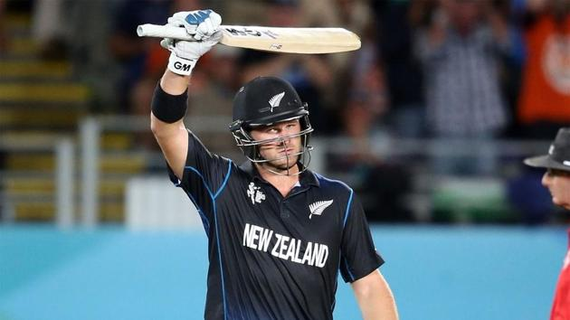 Corey Anderson broke Shahid Afridi's record for the fastest ODI century.(Getty Images)