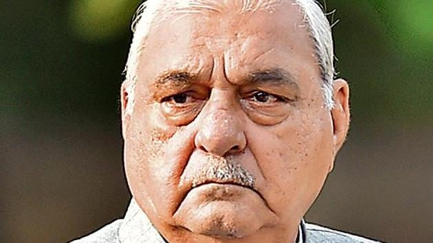 Bhupinder Singh Hooda(File photo)