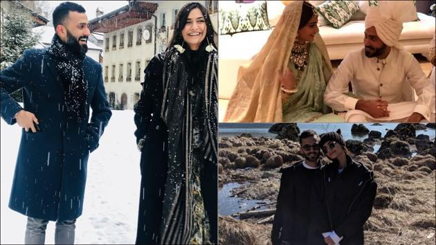 Sonam-Anand throw romance in the air like confetti and these mushy messages are proof(Instagram/sonamkapoor)