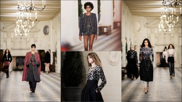 Covid-conscious Chanel streams fashion show from Loire chateau(Twitter/CHANEL)