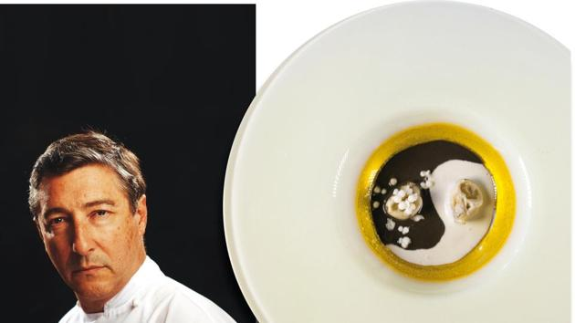 Chef Joan-Roca swears by his Oyster Ying-Yang