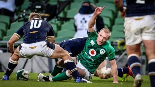 Ireland beat Scotland 31-16(Twitter)