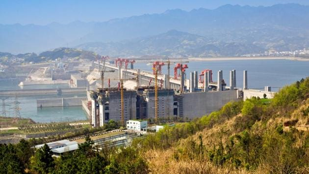 The new dam's ability to generate hydropower could be three times that of central China's Three Gorges Dam (above), which has the largest installed hydropower capacity in the world(Shutterstock)