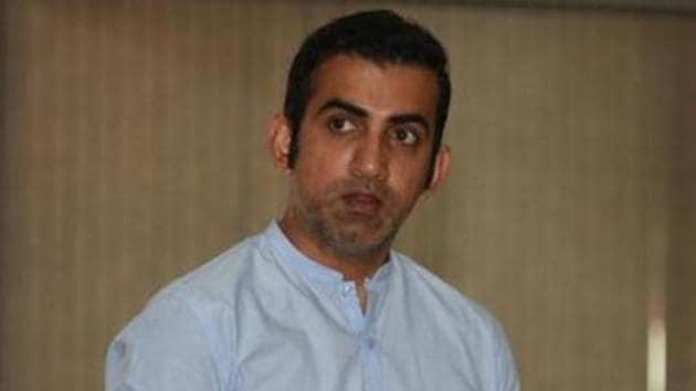 File image of Gautam Gambhir.(Sonu Mehta/HT PHOTO)
