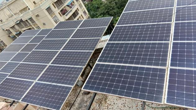 Solar energy development also raises environmental issues(Hindustan Times)