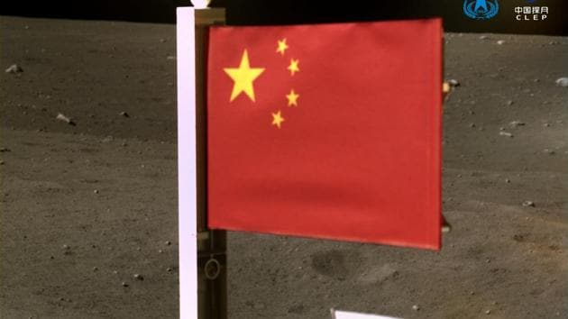 China plants its flag on moon as lunar probe takes off for earth - Hindustan Times