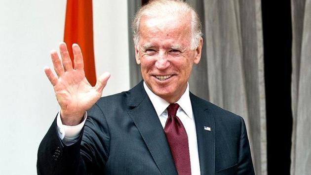 Joe Biden was responding to a question if Covid-19 vaccine be made mandatory.(AFP Photo)