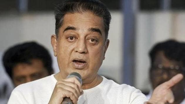 Makkal Needhi Maiam founder Kamal Haasan said women office-bearers and those belonging to families of party functionaries can join the initiative to take forward various activities.(PTI file photo)