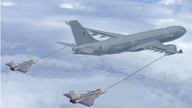 Mid-air refuellers are a key to expanding the operational envelope of the IAF and Indian Navy carrier-based fighters by extending their range.
