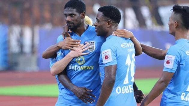 Mumbai City FC beat Odisha FC 2-0(ISL/Twitter)