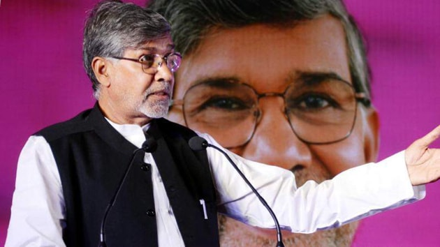 Nobel laureate Kailash Satyarthi(File photo)