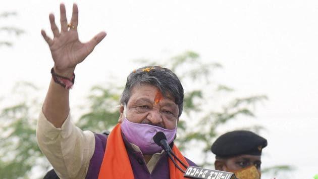File photo: BJP national general secretary Kailash Vijayvargiya.(PTI)
