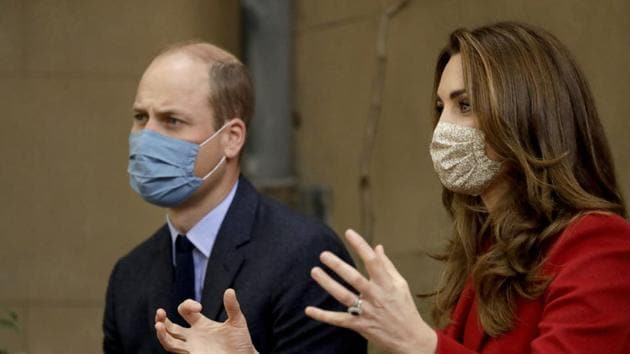 Britain's Prince William and his wife Kate the Duchess of Cambridge(AP File Photo)