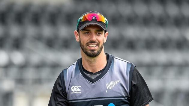 Photo of New Zealand cricketer Daryl Mitchell(Twitter)