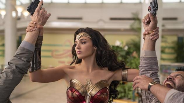This image released by Warner Bros. Entertainment shows Gal Gadot in a scene from Wonder Woman 1984.(A)