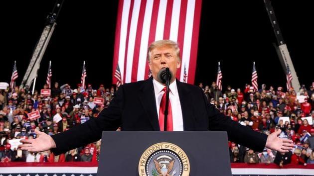 US elections 2020: Donald Trump falsely claims he won Georgia