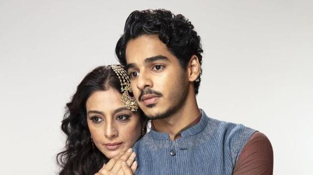 Actors Tabu and Ishaan Khatter starred in the web show A Suitable Boy
