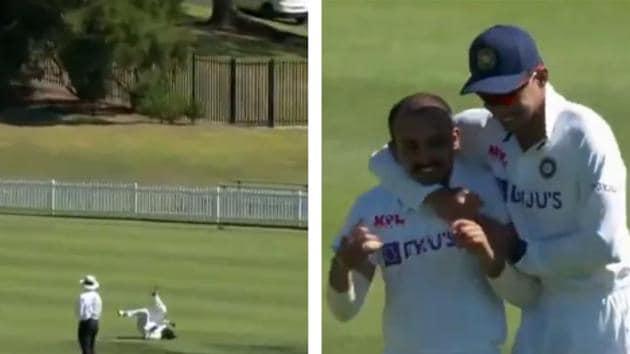 File image of Prithvi Shaw taking a catch.(Screengrab/Cricket.com.au)