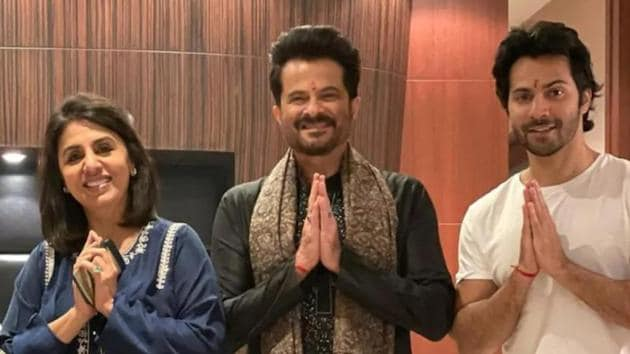 Neetu Kapoor and Varun Dhawan have tested positive for Covid-19 while their Jugg Jugg Jeeyo co-star Anil Kapoor has tested negative.