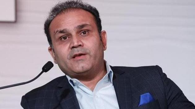 Former cricketer Virender Sehwag during the Hindustan Times Mint-Asia Leadership Summit, in Singapore, on Friday, September 6, 2019. (HT Photo)(HT Archives)