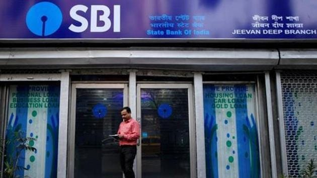 SBI's retail and personal loan segment made up 38.1% of its total loan book and stood at Rs 7.85 lakh crore as on September 30, 2020, up 15% from the same period last year.(Reuters file photo)