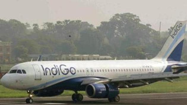 IndiGo in a statement said it has already processed close to Rs 1,000 crore of refunds, which is approximately 90 per cent of the total amount it owed to its customers.(Santosh Kumar/Hindustan Times)