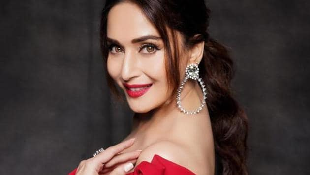 Actor Madhuri Dixit Nene is presently shooting for her debut web series.