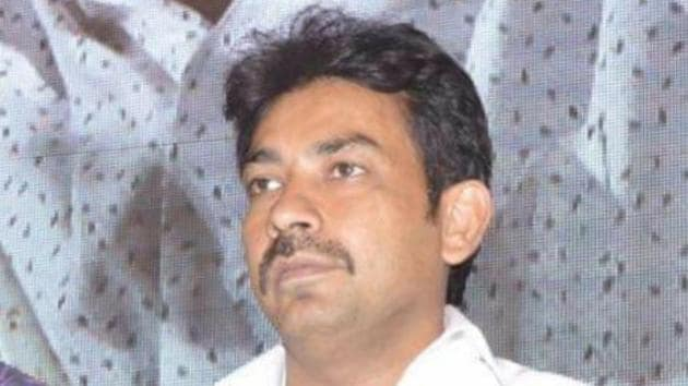 The accused Akbar Hussain is allegedly part of an international counterfeit currency racket having links to fugitive gangster Dawood Ibrahim's gang.(HT Photo)
