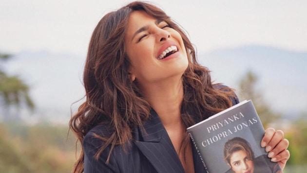 Priyanka Chopra will get an actual copy of her book next month.