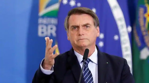 In a post on his Twitter account, Bolsonaro also said the economy ministry has assured him that there will be no shortage of resources to administer a vaccine to everyone who wants one.(Reuters File Photo)
