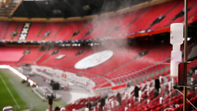 The tests are taking place at the Johan Cruyff Arena in Amsterdam, home of Ajax Amsterdam.(Reuters)