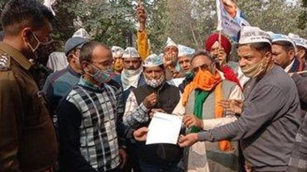 AAP's Uttarakhand unit president SS Kaler. (Photo S S Kaler)