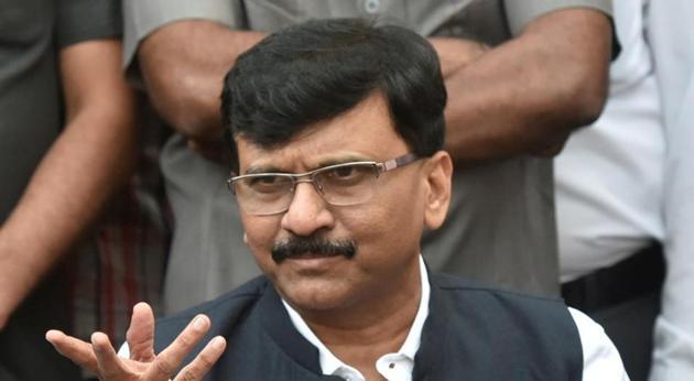 Shiv Sena leader Sanjay Raut(Kunal Patil/HT Photo)