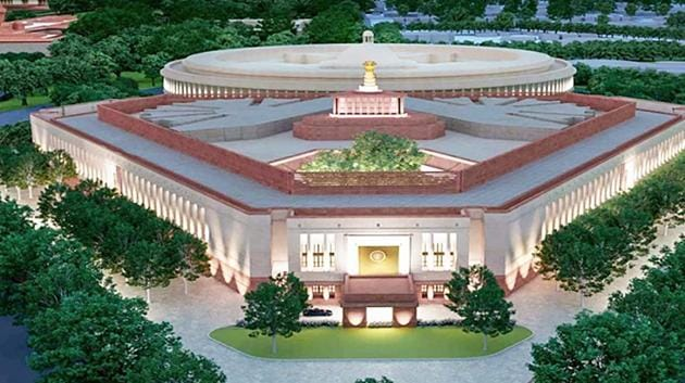 The CPWD had received an environmental clearance for only one project as part of the Central Vista redevelopment -- a parliament building. The clearance granted for that project is being challenged in the Supreme Court.(PTI file photo)