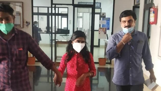 """""""I never thought I could cross this hurdle,"""" P Aswathi said after she enrolled in a medical college near her house on the orders of the Kerala High Court(Photo: Sourced)"""