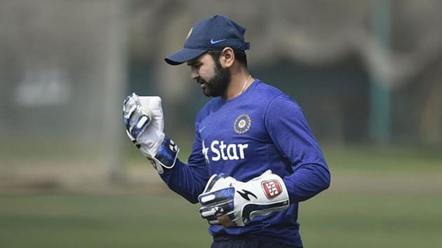 File image of Parthiv Patel training for India.(Getty Images)