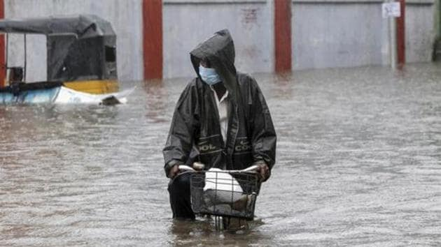 Apart from damage to crops, 9,907 houses have been affected due to the two recent cyclones.(AP)