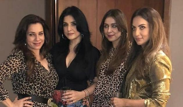 Seema Khan admitted to being 'jealous' of Neelam Kothari Soni's hair.
