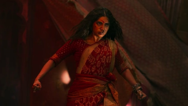 Durgamati movie review: Bhumi Pednekar in a still from the new Amazon horror film.