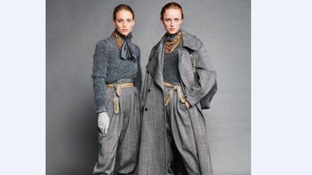 Models in Alberta Ferretti(Photos: Instagram)