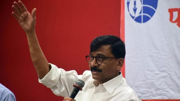 Sanjay Raut said the Congress is weak and hence the opposition needs to come together now.(PTI)